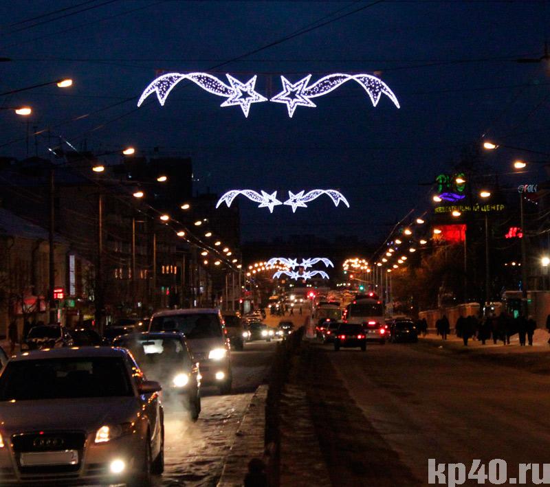 фото украшений улица